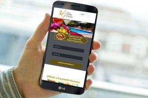 Online il nuovo sito web, Hotel Villa Giusy