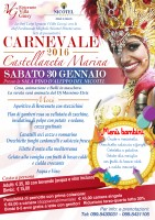 Pacchetto Carnevale 2016 -Pernotto e cena con ballo