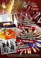 """(Italiano) Offerte Capodanno 2018 al """"Villa Giusy"""""""