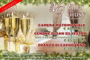 (Italiano) Offerte di fine Anno 2016/17 a Villa Giusy
