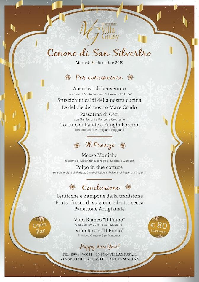 Cenone di San Silvestro 2019/20